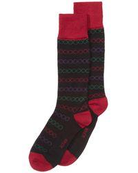 Alfani - Printed-stripe Socks, Created For Macy's - Lyst
