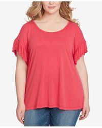 Jessica Simpson - Trendy Plus Size Olympia T-shirt - Lyst