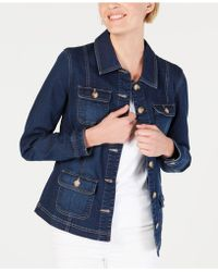 Charter Club - 4-pocket Denim Jacket, Created For Macy's - Lyst