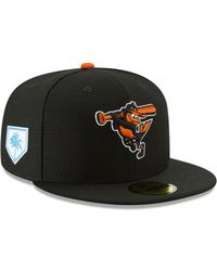 the best attitude 38b6b cee17 KTZ Baltimore Orioles Gold 59fifty Cap in Black for Men - Lyst