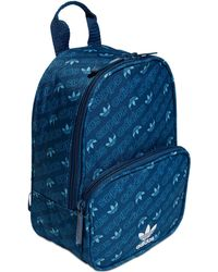 ab952edc2b adidas - Originals Santiago Logo-print Mini Backpack - Lyst