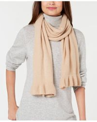 Charter Club - Ruffled Cashmere Scarf, Created For Macy's - Lyst