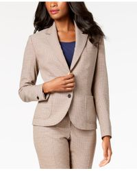Anne Klein - Two-button Plaid Blazer, Created For Macy's - Lyst