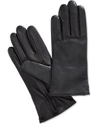 Charter Club - Cashmere Lined Leather Tech Gloves, Only At Macy's - Lyst