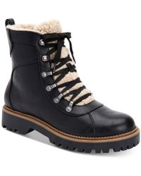 Style & Co. - Morggan Lace-up Combat Booties, Created For Macy's - Lyst