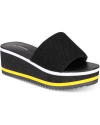 Call It Spring - Larelasien Flatform Sport Sandals - Lyst