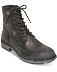 Steve Madden - Smoky Leather Boots - Lyst