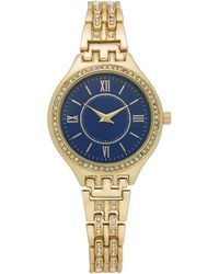 Charter Club - Gold-tone Bracelet Watch 34mm, Created For Macy's - Lyst