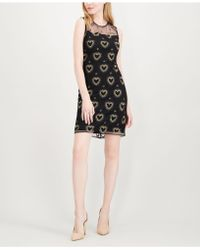 Maison Jules - Embroidered Illusion Dress, Created For Macy's - Lyst