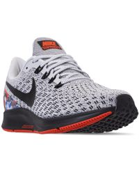 reputable site 70b6f 389bb Nike - Air Zoom Pegasus 35 Running Sneakers From Finish Line - Lyst