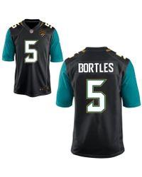 Nike - Men's Blake Bortles Jacksonville Jaguars Game Jersey - Lyst