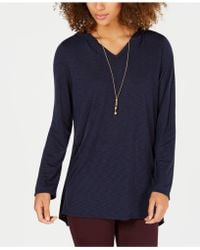 Style & Co. - Hoodie Tunic, Created For Macy's - Lyst