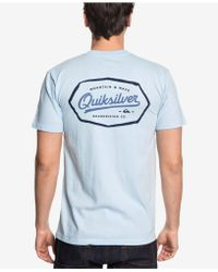 Quiksilver - Live On The Edge Logo Graphic T-shirt - Lyst