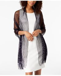 INC International Concepts - I.n.c. Lurex® Metallic Net Evening Wrap, Created For Macy's - Lyst