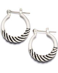 Charter Club - Mini Hoop Earrings - Lyst