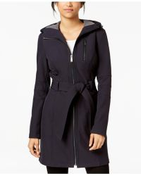 BCBGeneration - Hooded Raincoat - Lyst