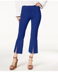 INC International Concepts - I.n.c. Cropped Split-hem Pants, Created For Macy's - Lyst