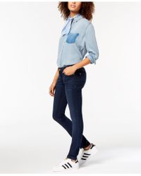 DL1961 Dl1961 Camila Low Rise Skinny Jeans - Blue