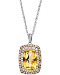 Macy's - Sterling Silver Necklace - Lyst