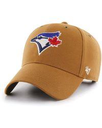 detailed look abb4c ff50c 47 Brand - Toronto Blue Jays Carhartt Mvp Cap - Lyst