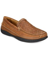 Johnston & Murphy - Men's Fowler Woven Venetian Loafers - Lyst