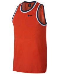 f172cd8adb8fd1 Nike - Dri-fit Mesh Basketball Jersey - Lyst