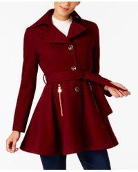INC International Concepts - I.n.c. Petite Skirted Walker Coat, Created At Macy's - Lyst