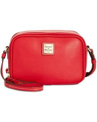 Dooney & Bourke - Saffiano Sawyer Crossbody - Lyst