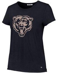 47 Brand - Chicago Bears Letter Crew T-shirt - Lyst