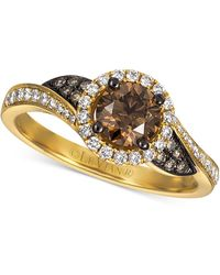Le Vian - Chocolatier® Diamond Swirl Ring (1 Ct. T.w.) In 14k Gold - Lyst