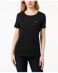 Lacoste - Cotton Jersey T-shirt - Lyst