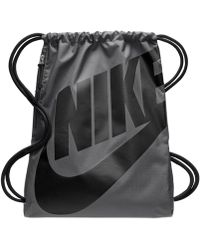 aa3f10352a Lyst - Nike Alpha Adapt Gym Sack in Black