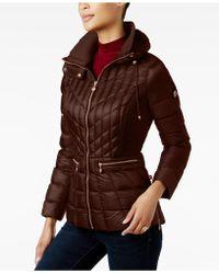 Bernardo - Quilted Packable Puffer Coat - Lyst