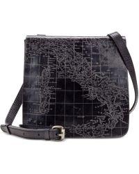 Patricia Nash - Metallic Embossed Map Granada Crossbody - Lyst