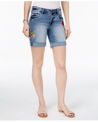 Kut From The Kloth - Catherine Patched Shorts - Lyst