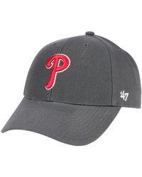 reputable site b13bf 739e8 47 Brand - Philadelphia Phillies Charcoal Mvp Cap - Lyst