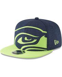 new arrival 94af5 eda13 KTZ Seattle Seahawks Nfl Draft 9fifty Snapback Cap in Green for Men - Lyst