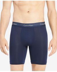 Calvin Klein - Light Long-line Boxer Briefs - Lyst