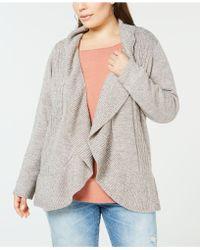 Karen Scott - Plus Size Cocoon Cardigan Sweater, Created For Macy's - Lyst