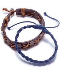 Rogue Accessories - Men's 2-pc. Lander Bracelet Set - Lyst