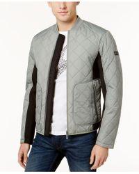 Armani Exchange - Men's Zip-front Quilted Jacket - Lyst