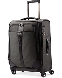 "Hartmann - Closeout! Herringbone Luxe 21"" Expandable Carry On Spinner Suitcase - Lyst"