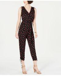 19 Cooper - Floral-print Jumpsuit - Lyst