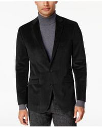 Kenneth Cole Reaction - Men's Slim-fit Micro-grid Velvet Dinner Jacket - Lyst