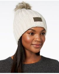 76ceb78ed6f Lyst - Under Armour Snowcrest Pom Beanie in Red