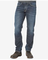 Silver Jeans Co. - Eddie Big And Tall Relaxed Fit Jeans - Lyst