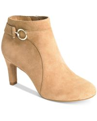 Bandolino - Longo Ankle Booties - Lyst