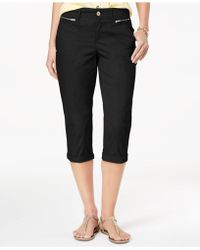 Style & Co. - Zipper-pocket Capri Pants, Created For Macy's - Lyst