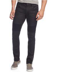 INC International Concepts - Men's Moto Matrix Skinny Jeans, Only At Macy's - Lyst