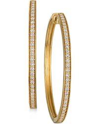 Le Vian - Nudetm Diamond Hoop Earrings (9/10 Ct. T.w.) - Lyst